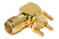SMA-CONNECTOR PCB ELBOW
