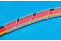 CLEAR PLASTIC SPIRAL 13-70mm