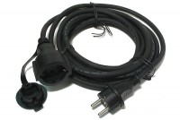MAINS EXTENSION CORD FOR OUTDOOR USE 5m