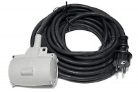 MAINS 2X EXTENSION CORD FOR OUTDOOR USE 10m