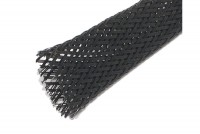 POLYESTER BRAIDED SLEEVE ؘ10-18mm BLACK