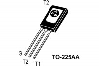 TRIAC 4A 600V 10/15mA TO225