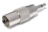 IEC-ADAPTERI NAARAS / 3,5mm MONOPLUGI