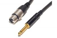 XLR/PLUG MICROPHONE CABLE 10m