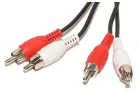 RCA STEREO CABLE 2,5m