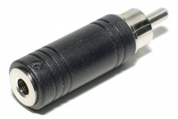 ADAPTER JACK MONO 3,5mm / RCA MALE