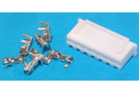 JST XH-CONNECTOR 7-POLE (pins incl.)