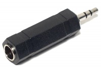 ADAPTER JACK STEREO 6,3mm / PLUG STEREO 3,5mm
