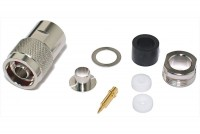 N CONNECTOR MALE SOLDERABLE FOR AIRCOM+/ECOFLEX10 CABLE