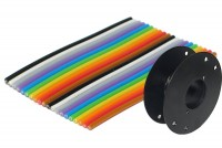 COLOURED FLAT CABLE 10-PIN 30,5m roll