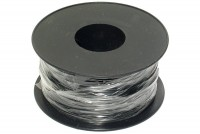 EQUIPMENT WIRE 0,22mm2 BLACK 100m roll