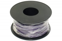 EQUIPMENT WIRE 0,22mm2 VIOLET 100m roll