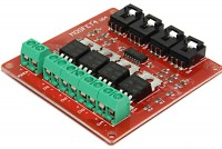 IRF540 FET-MODULE WITH FOUR FETS