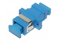 SC-ADAPTER, SM simplex, blue