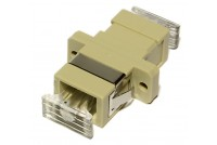 SC-ADAPTER, MM simplex, beige