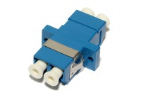 LC-ADAPTER, SM duplex, blue
