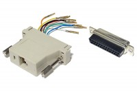 D-CONNECTOR BOX RJ45 (8P8C) / D25 FEMALE