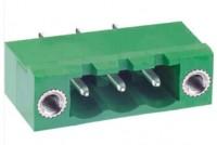 Term.Block 6pin 5,08mm male ST fixing insert