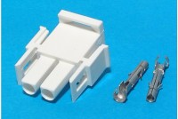 AMP 2-POLE POWER CONNECTOR PLUG