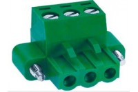 Terminal Block 6x5,08mm for wire + fixing screws