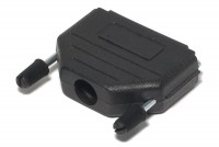 D25 CONNECTOR ENCLOSURE BLACK