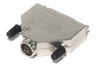 D25 CONNECTOR ENCLOSURE METAL