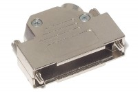 D25 CONNECTOR ENCLOSURE 45deg ANGLE METAL