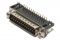 D25 CONNECTOR MALE ANGLE PCB EUROPE