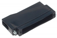 D37 CONNECTOR ENCLOSURE 90deg ANGLE