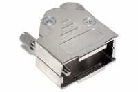 D9 CONNECTOR ENCLOSURE 45deg ANGLE METAL