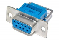 D9 CONNECTOR FEMALE FLAT CABLE