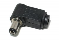 DC CONNECTOR ANGLE 2,1/5,5mm