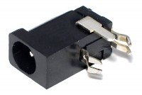 DC PCB SOCKET 1,1/3,4mm WITH SWITCH