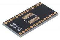SMD ADAPTER SSOP28/TSSOP28 / DIP