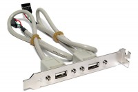 USB 2.0 EXTRA CONNECTORS FOR PC-COMPUTERS