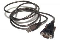 USB 2.0 / RS232-SARJAPORTTI (D9 UROS) 0,9m