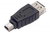 USB-ADAPTER A-FEMALE / MiniUSB-5P MALE