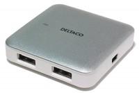 USB 2.0 4/1-PORTTINEN HUBI