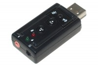 USB 2.0 STEREO SOUND ADAPTER