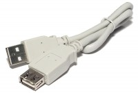 USB-2.0 EXTENSION CABLE A-MALE / A-FEMALE 0,3m