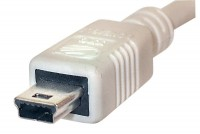 USB CABLE A-MALE / MINI-B 5-PIN 2m