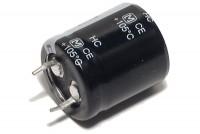 ELEKTROLYYTTIKOND. 100µF 400V 22x25mm Snap-in