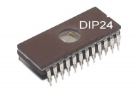 EPROM MEMORY IC 4Kx8 200ns DIP24