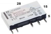 PCB RELAY SPDT 6A 5VDC