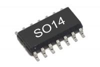 CMOS-LOGIC IC SCHMITT 40106 SO14