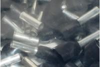 PÄÄTEHOLKKI 2x1,5mm2 MUSTA 100kpl pussi