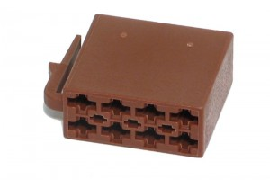 ISO 10487 CAR RADIO CONNECTOR BROWN