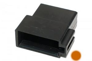 ISO 10487 CAR RADIO SOCKET BROWN