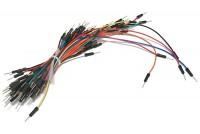 JUMPER WIRE MALE/MALE MULTICOLOR 65pcs
