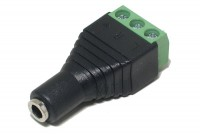 3,5mm STEREO JACK WITH TERMINAL BLOCK